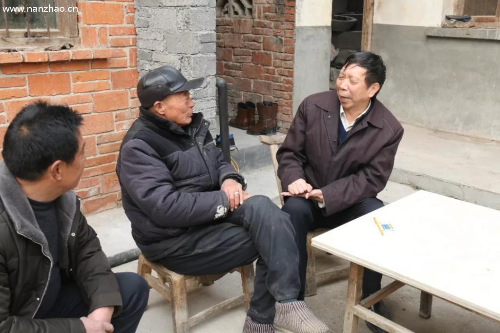 """刘朝瑞主席到南召县走访慰问困难群众"""""""