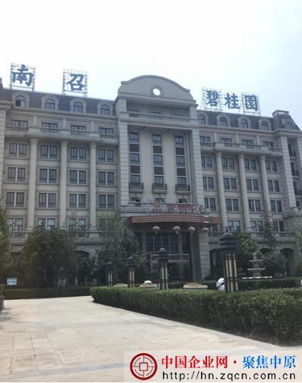 碧桂园南召项目涉无证预售